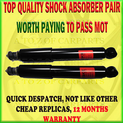 Mitsubishi Delica L400 Space Gear 2.8 94 P*8W Front Shock Absorber Pair
