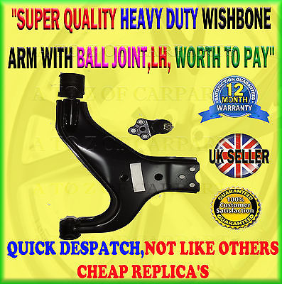 For Nissan Elgrand 1997-2002 E50 Lower Suspension Wishbone Arm And Ball Joint Lh/Ns