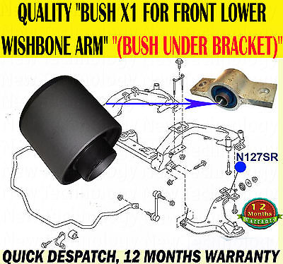 For Nissan Elgrand 2.5 3.5 2002-2010 E51 Front Lower Wishbone Arm Rear Bush Onlyx1